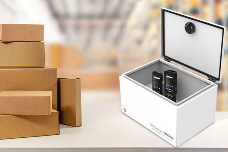 SANItize Box, Caja de desinfección por Ozono